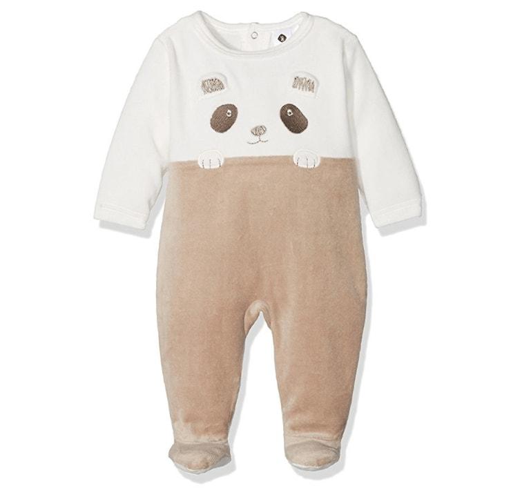 fais de beaux r ves petit panda grenouill re b b gar on manches longues. Black Bedroom Furniture Sets. Home Design Ideas