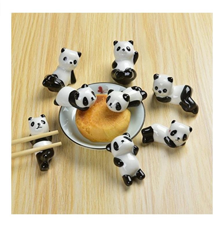 je suis ton oblig porte couverts baguettes en forme de panda d coration de table cute. Black Bedroom Furniture Sets. Home Design Ideas
