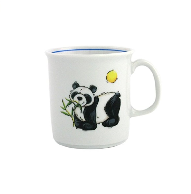 fontaine de jouvence mug pour enfant b b panda bambou et soleil. Black Bedroom Furniture Sets. Home Design Ideas